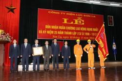 PC Sơn La đón nhận Huân chương Lao động hạng Nhất