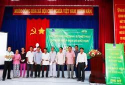 PVFCCo SE hỗ trợ cho hộ dân bị thiên tai tại Long An