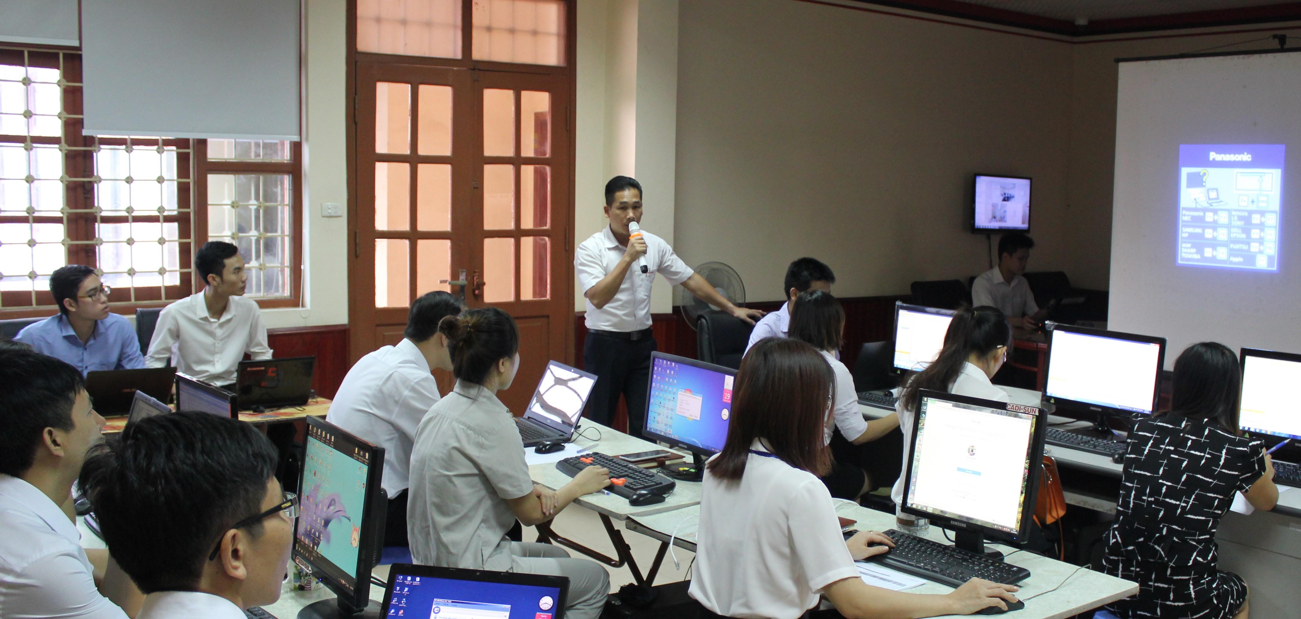 CADI-SUN đào tạo vận hành hệ thống ERP