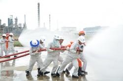 Lọc dầu Dung Quất đạt 10 triệu giờ công an toàn