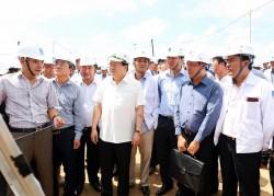 Phó Thủ tướng kiểm tra Dự án nhiệt điện Long Phú 1 và Sông Hậu 1