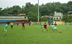 Quacontrol giao lưu bóng đá mừng 86 năm ngày thành lập đoàn
