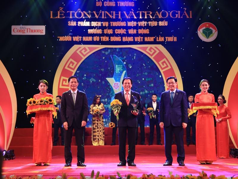 BSR đạt tốp 10 sản phẩm thương hiệu Việt xuất sắc