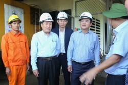 Chủ tịch EVN kiểm tra tình hình cấp điện tại đảo Cồn Cỏ