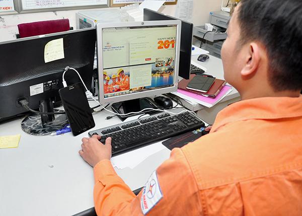 Thuận tiện như cấp điện online cho khách hàng Thủ đô