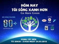 EVNSPC: Nhiều hoạt động hưởng ứng Giờ Trái đất 2018