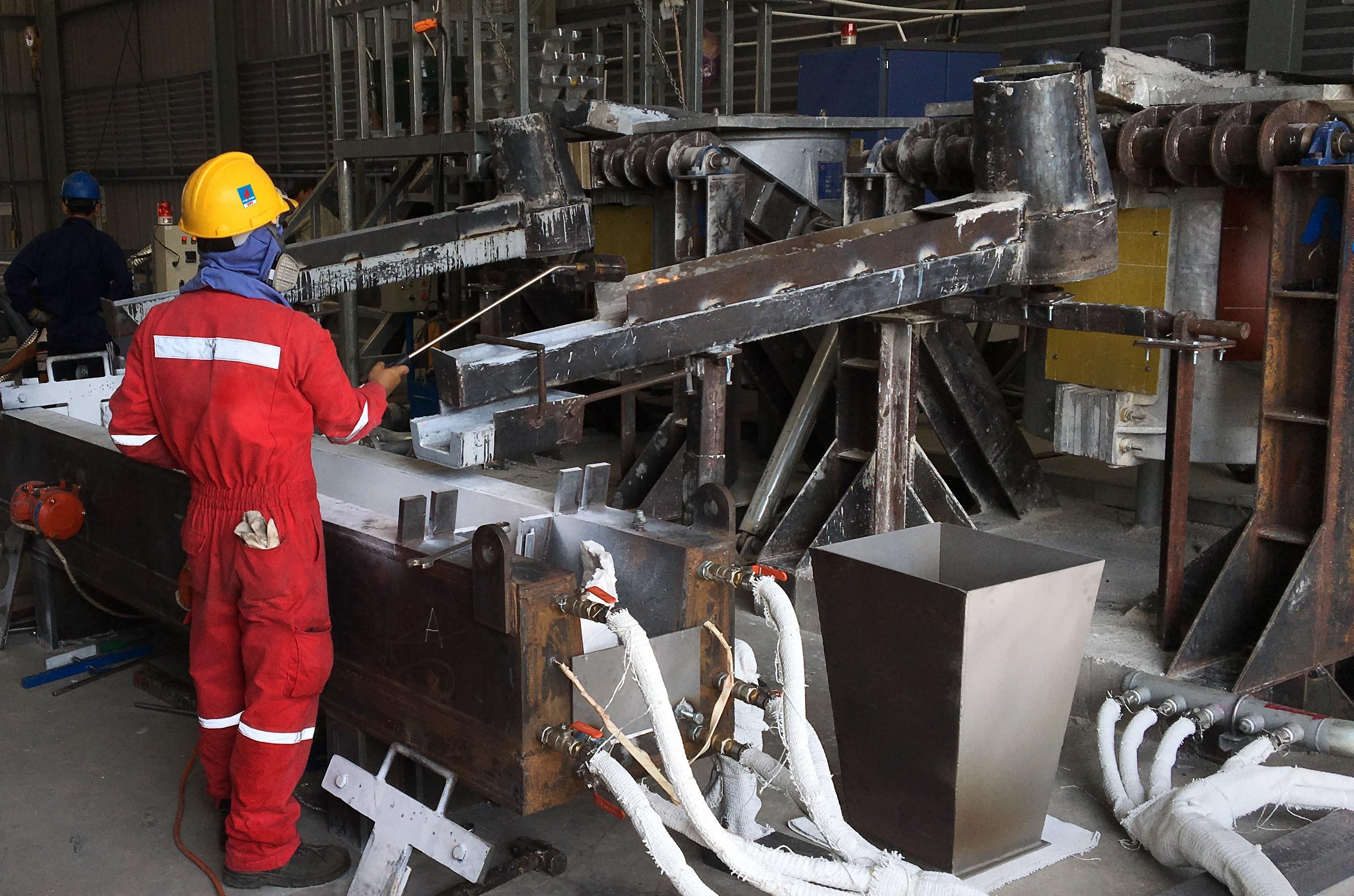 VPI cung cấp 85 tấn anode cho dự án mỏ Cá Tầm 1