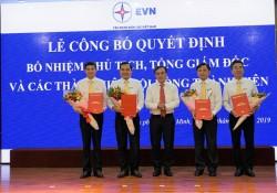 Công bố quyết định bổ nhiệm Chủ tịch, Tổng giám đốc EVNSPC