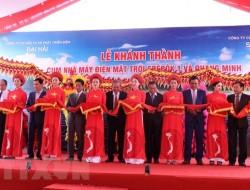 Khánh thành cụm Nhà máy điện mặt trời Srêpốk 1 và Quang Minh