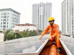 EVNHANOI khuyến nghị khách hàng dùng điện mặt trời trên mái nhà