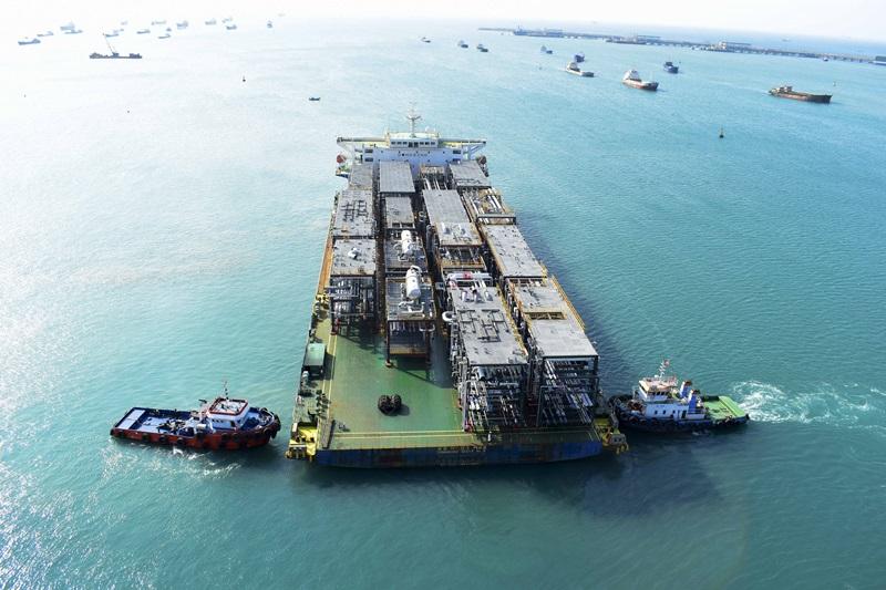 Doosan Vina hoàn thành đơn hàng cho nhà máy lọc dầu ở Abu Dhabi
