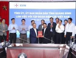 Trao Giấy chứng nhận đầu tư dự án Nhiệt điện Quảng Trạch 2