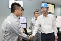 Tổng Giám đốc EVN làm việc với Công ty Nhiệt điện Nghi Sơn