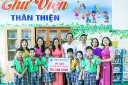 KVT trao tặng Tủ sách Khuyến học tại Tp. Vũng Tàu
