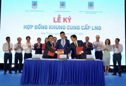 Ký 'Thỏa thuận hợp tác cung cấp LPG' và 'Hợp đồng khung cung cấp LNG'