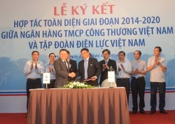 EVN và Vietinbank ký kết thỏa thuận hợp tác toàn diện