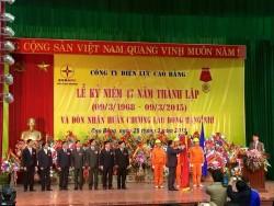 PC Cao Bằng đón nhận Huân chương Lao động hạng Nhì