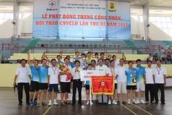 Truyền tải điện 4 đạt giải nhất Hội thao EVN NPT năm 2015
