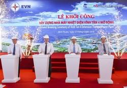 Khởi công dự án nhiệt điện Vĩnh Tân 4 mở rộng