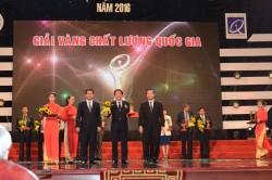 Xăng dầu Dung Quất giành giải Vàng chất lượng quốc gia 2016