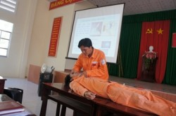 PC Đồng Tháp tuyên truyền an toàn điện