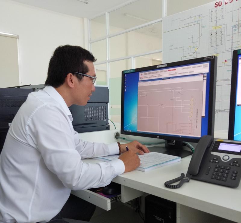 PC Ninh Thuận đưa vào vận hành hệ thống SCADA 1