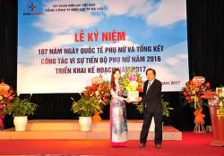 EVN HANOI tổ chức Lễ kỷ niệm Ngày Quốc tế Phụ nữ