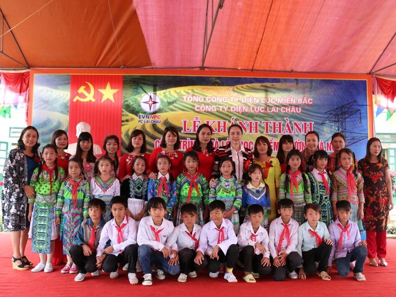 Khánh thành trường tiểu học tại Lai Châu do NPC tài trợ 2