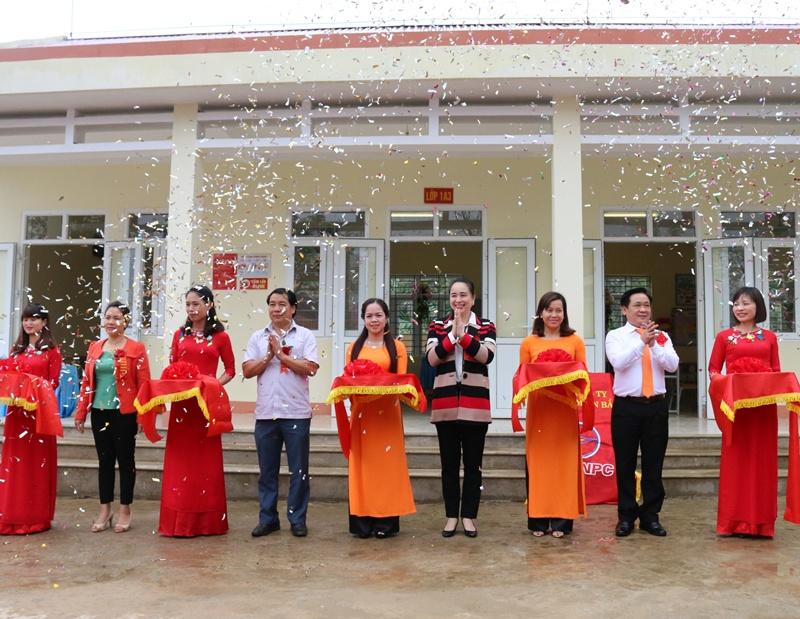 Khánh thành trường tiểu học tại Lai Châu do NPC tài trợ 1
