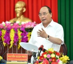 Thủ tướng làm việc với lãnh đạo tỉnh Trà Vinh