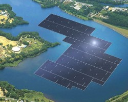 Khởi công dự án Nhà máy điện mặt trời hồ Bầu Ngứ