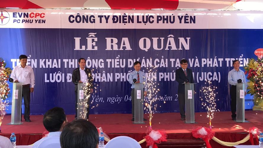236 tỷ đồng cải tạo và phát triển lưới điện Phú Yên bằng vốn vay JICA