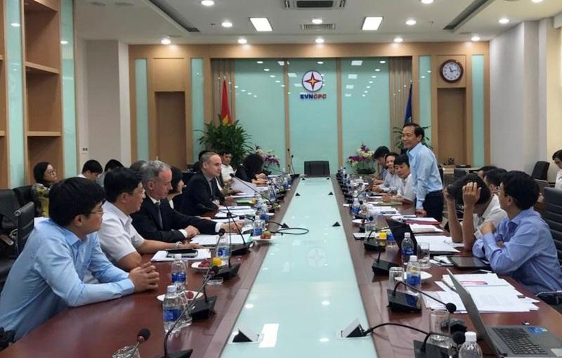 KfW kiểm tra tình hình thực hiện dự án điện tại Việt Nam 1