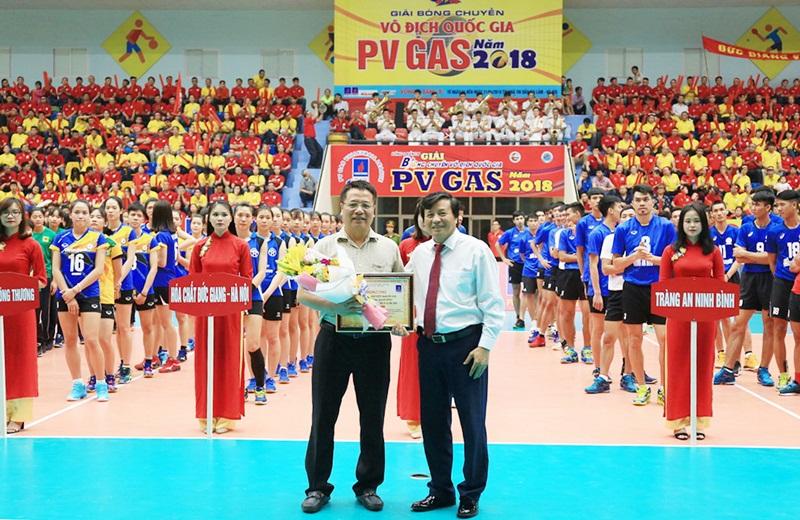 PV GAS đồng hành cùng Giải bóng chuyền vô địch quốc gia 1