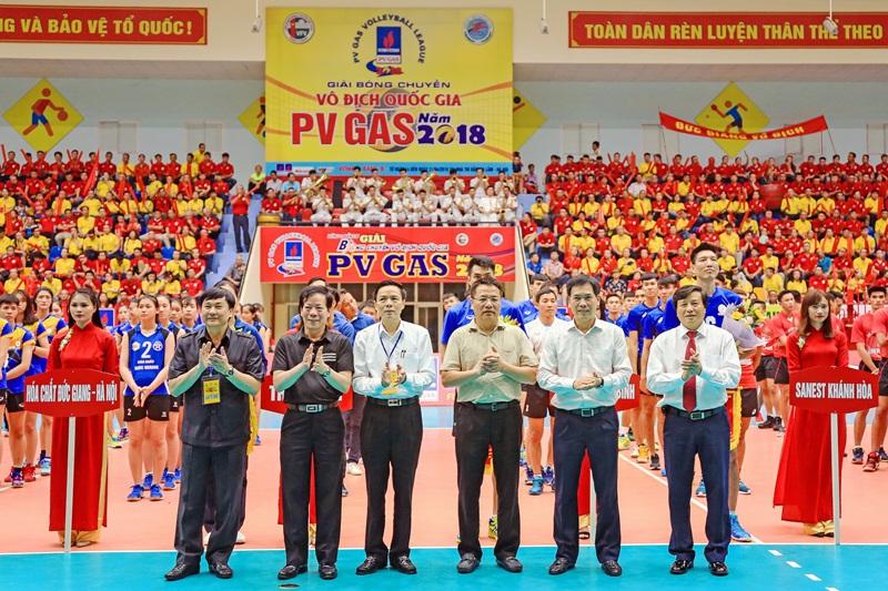 PV GAS đồng hành cùng Giải bóng chuyền vô địch quốc gia 2