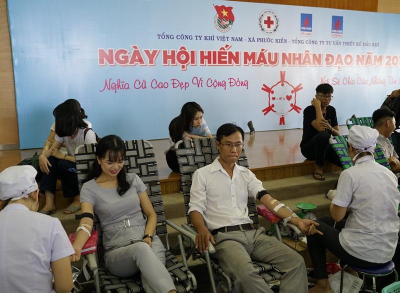 Đoàn Thanh niên PV GAS tổ chức Ngày hội hiến máu nhân đạo 2