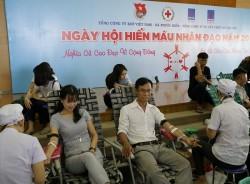 Đoàn Thanh niên PV GAS tổ chức Ngày hội hiến máu nhân đạo