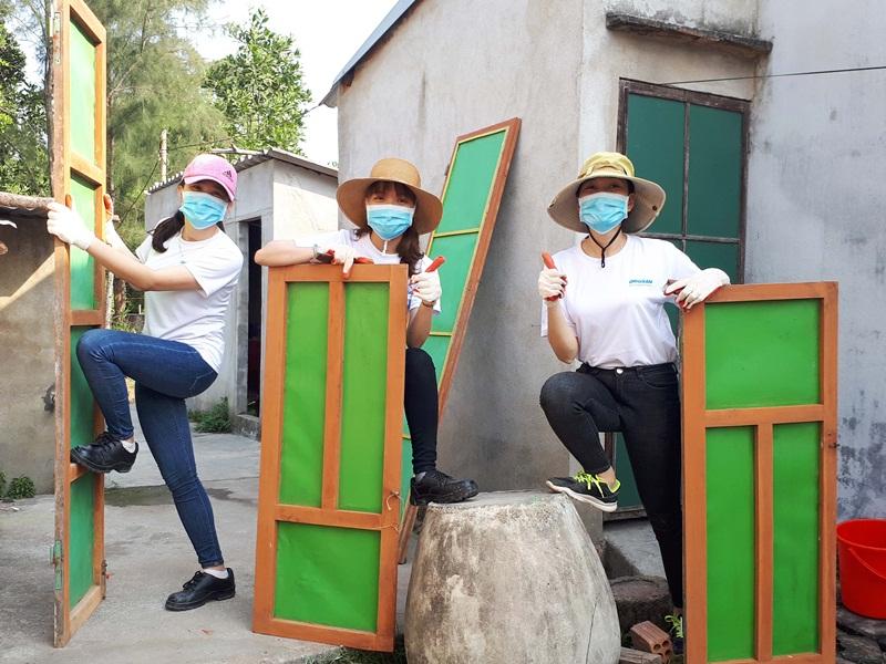 """Doosan với hoạt động """"Ngày phục vụ vì cộng đồng"""" 5"""
