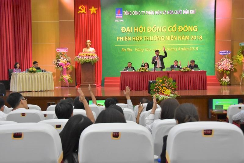 PVFCCo tổ chức thành công Đại hội đồng cổ đông thường niên 2018 1
