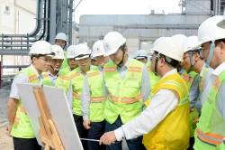 Tổng giám đốc EVN kiểm tra tiến độ dự án Nhiệt điện Vĩnh Tân 4 MR