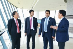 ADNOC tìm hiểu cơ hội hợp tác, đầu tư vào Lọc dầu Dung Quất