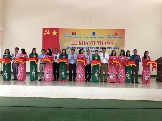 Vietsovpetro khánh thành công trình an sinh xã hội tại Quảng Trị