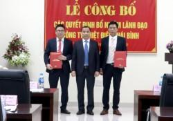 Công bố quyết định bổ nhiệm lãnh đạo Công ty Nhiệt điện Thái Bình