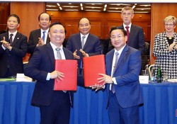 Doanh nghiệp Séc và Hà Tĩnh ký thỏa thuận đầu tư điện gió