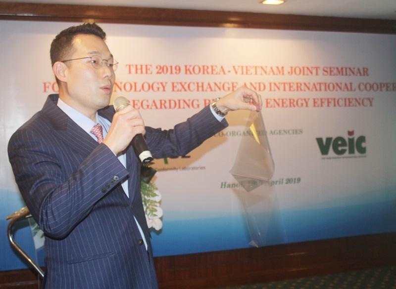 Việt - Hàn chia sẻ 'công nghệ tiết kiệm năng lượng trong xây dựng'