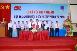 Vietsovpetro và PTSC ký thỏa thuận hợp tác chiến lược
