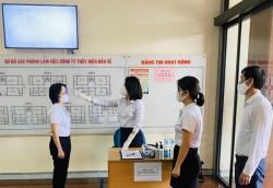 Thuỷ điện Bản Vẽ thực hiện nghiêm quy định chống dịch Covid-19
