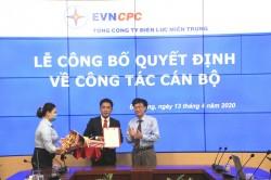 Bổ nhiệm Giám đốc Ban Quản lý dự án Điện nông thôn miền Trung