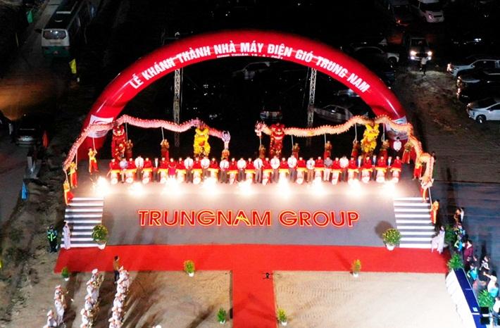 Khánh thành Nhà máy điện gió Trung Nam