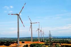 Hoà lưới điện quốc gia 16 MW điện gió Bạc Liêu